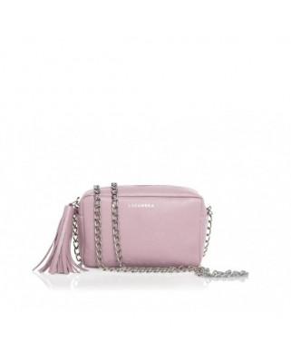 Δερμάτινη Τσάντα Mini Chic Ροζ