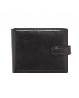 Ανδρικό πορτοφόλι Rome μαύρο