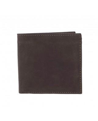 Ανδρικό πορτοφόλι Woods Wallet καφέ ξεβαμένο