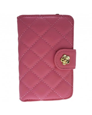 Rose Cash & Coin Purse pink