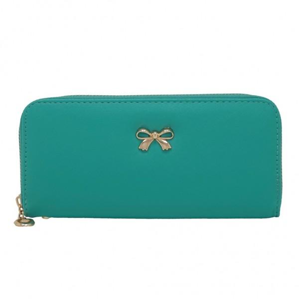 Γυναικείο πορτοφόλι από saffiano leather