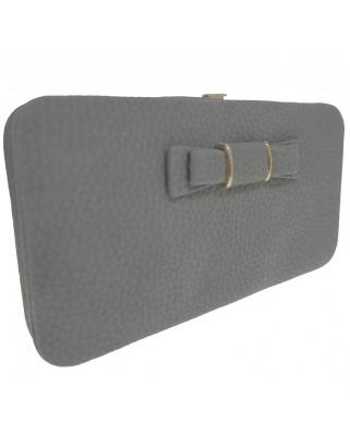 Γυναικείο πορτοφόλι με φιογκάκι