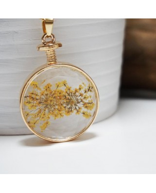 Flower Pendant Yellow