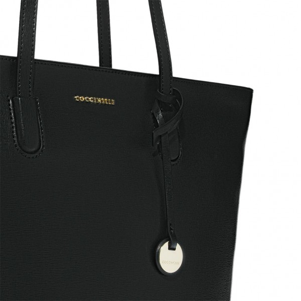 Clementine saffiano leather