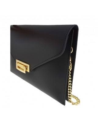 f77b1f0287 ... Δερμάτινη τσάντα φάκελος μαύρη