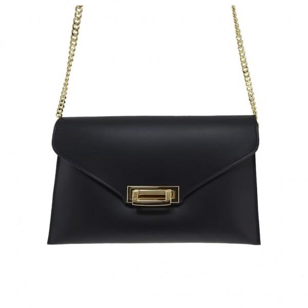 d1188d43de Δερμάτινη τσάντα φάκελος μαύρη - Sisbags.gr