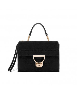 Arlettis Mini suede black leather