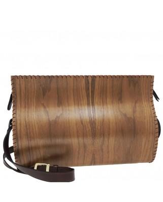 Ξύλινη τσάντα Ω
