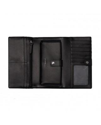 Γυναικείο πορτοφόλι Utilitarian Purse Black  FIORELLI