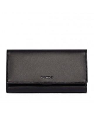Γυναικείο πορτοφόλι Utilitarian Purse FIORELLI μαύρο